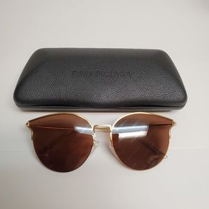 BALENCIAGA EVERYDAY BB0021SK-005 MIRROR SUNGLASSES
